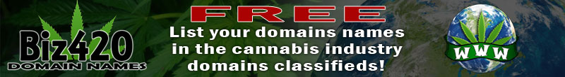Biz420 Domains: Buy & Sell Marijuana Related Domain Names FREE